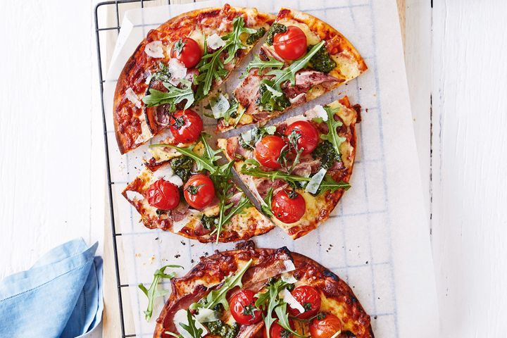 Simple Way to Make Easy BLT pizza