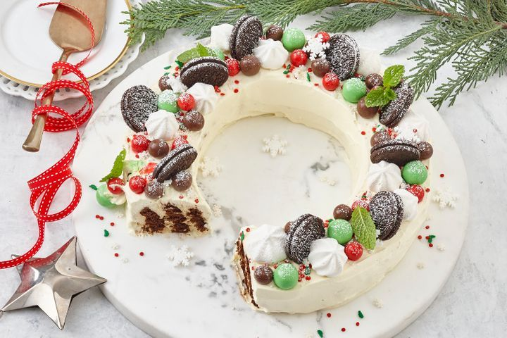 How to Make Easy choc ripple wreath