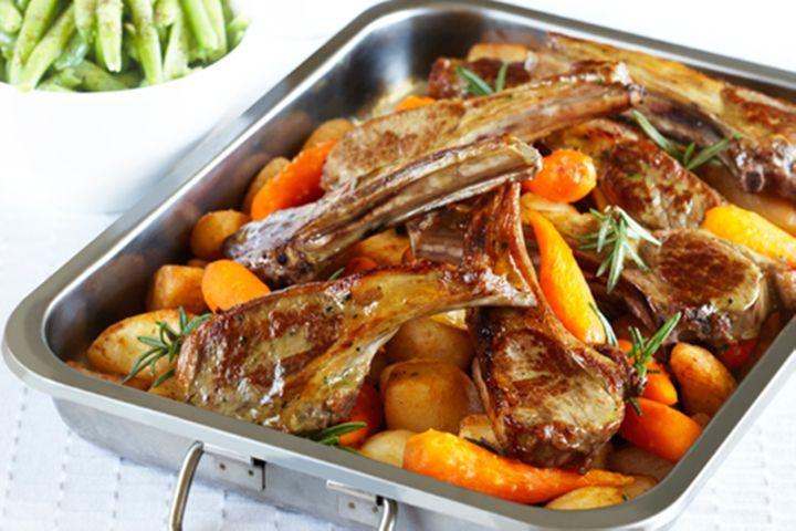 How to Make Easy lamb roast
