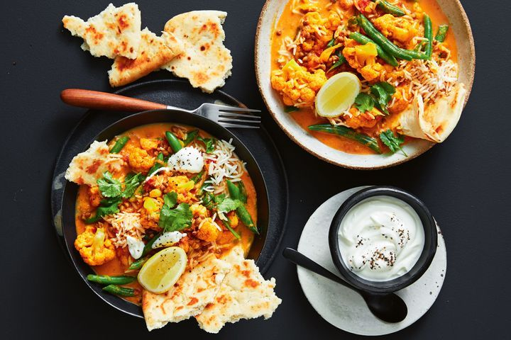 Simple Way to Make One-pan quick and easy cauliflower korma