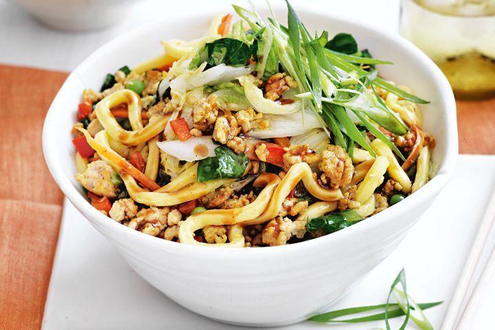 Simple Way to Make Quick chicken chow mein