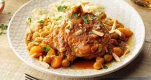 Ayam Aprikot Maroko