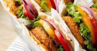 Burger Lentil Pedas Jinten