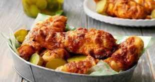 Ayam Panas Nashville Air Fryer