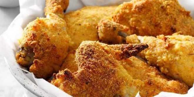 Ayam panggang tepung jagung